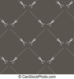 Scissors Seamless Pattern