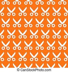 scissors seamless pattern