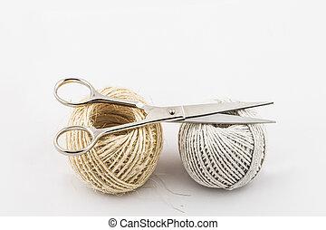 scissors twine