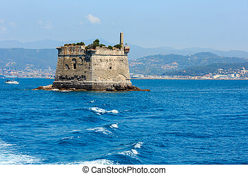 Scola Tower, Portovenere, Italy - Scola Tower (tower of St....