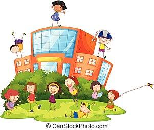 scolari, gioco