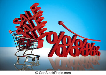 scontare, collezione, vendita