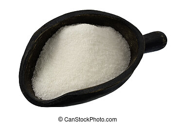 scoop of white sugar