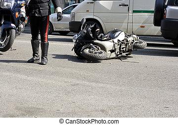 scooter, fracas