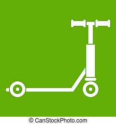 Scooter icon green
