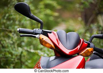 scooter, moteur