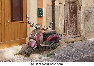 scooter, vecchio