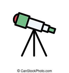 scope  flat color icon