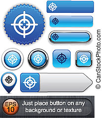 scopo, high-detailed, buttons., moderno