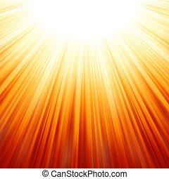 scoppio stella, rosso giallo, fire., eps, 8