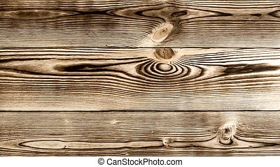 Scorched Wooden Background