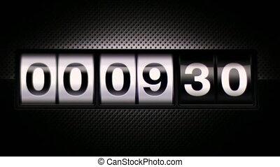 Scoreboard Digital Countdown - Classical countdown digital...