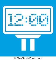 Scoreboard icon white