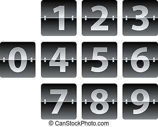 scoreboard, meccanico