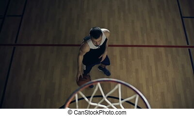 Scoring a Basket from Set Shot - Focus shifting from...