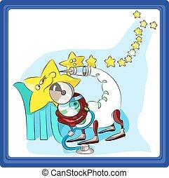 Scorpio - the eighth sign of the zodiac horoscope.