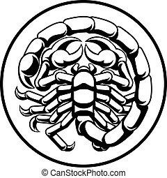 Scorpio Scorpion Horoscope Zodiac Sign