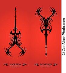 scorpion. black scorpion