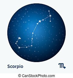 scorpion, constellation