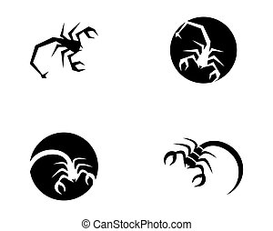 Scorpion Logo Template