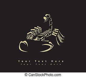 scorpion, papier peint