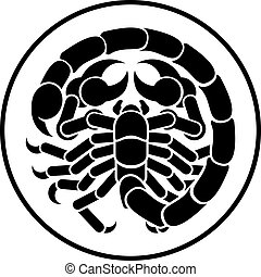 Scorpion Scorpio Zodiac Horoscope Astrology Sign - Scorpio...