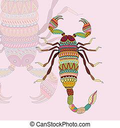 scorpion, zodiaque, signe