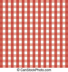 Scotch background - Red seamless tartan texture for...