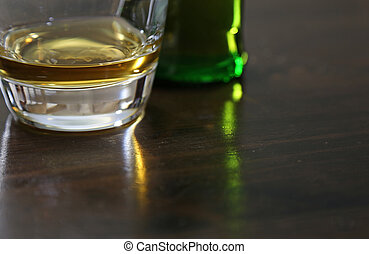 Scotch Whiskey on a Table