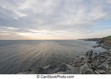 scotia, 現場, nova, 道, cabot, 沿岸である