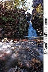 Scotish waterfall HDR