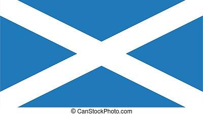 Scotland flag draw
