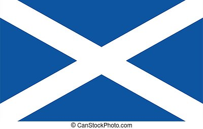 Scotland flag illustration