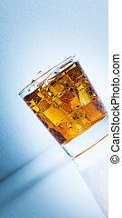 Scotland - glass of whisky on rocks