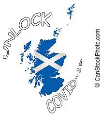 Scotland pandemic unlock - Representation of the Scotland ...