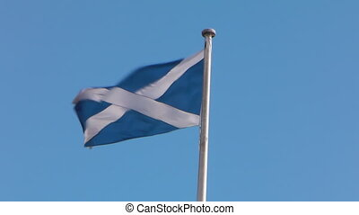 Scotlands Flag - The Scottish Flag Also Known As Saint...