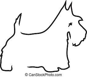 10 scottie clip art and stock illustrations rh canstockphoto com Scottie Dog Template Scottie Dog Template