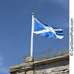 scottish, 旗, 1