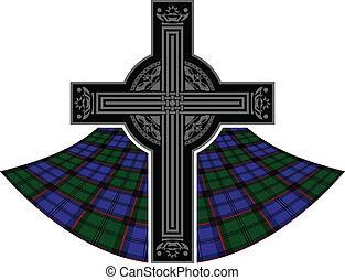 scottish celtic cross