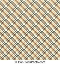 Scottish checked ornament seamless pattern
