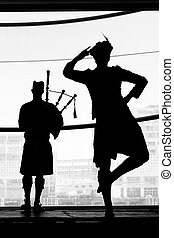 Scottish highland dance - AUCKLAND - JUNE 01 2014:Scottish...