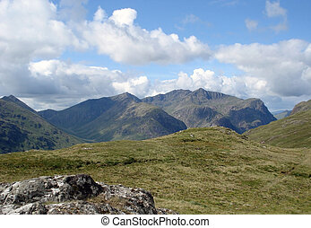 Scottish Highlands at summer time - Scottish Highland...