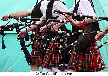 Scottish Pipe Band