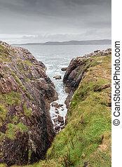 Scottish Rock Coastline