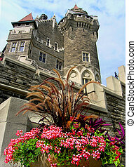 Scottish Tower. - The East or Scottish Tower (back view) of...