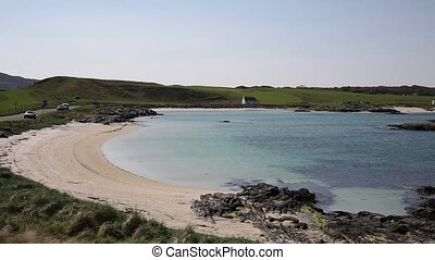 Scottish white sandy beach clear - Scottish white sandy...