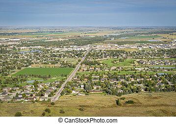 Scottsbluff and North Platte RIver in Nebraska - town of ...