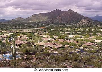 Scottsdale, Cavecreek community, AZ