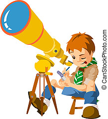 Scout astronomer