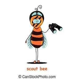 scout bee.eps